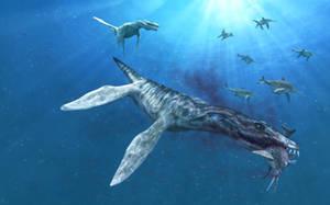Liopleurodon Ferox by Stalio