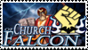 Church of Falcon Stamp by Badonk