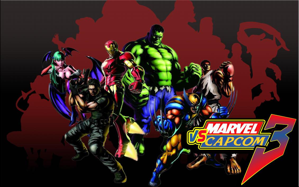 Amazing Wallpaper Marvel Deviantart - marvel_vs_capcom_3_wallpaper_by_badonk  2018_406471.jpg
