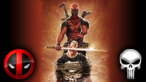 Deadpool Punisher wallpaper