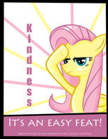 Fluttershy Poster by traveling-adventurer