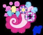 cutie mark: Pinkie Pie