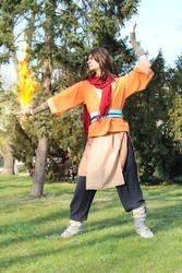 Avatar Wan - Firebending by petrop92