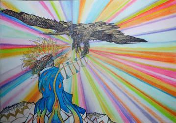 Eagle Free by Yamenja