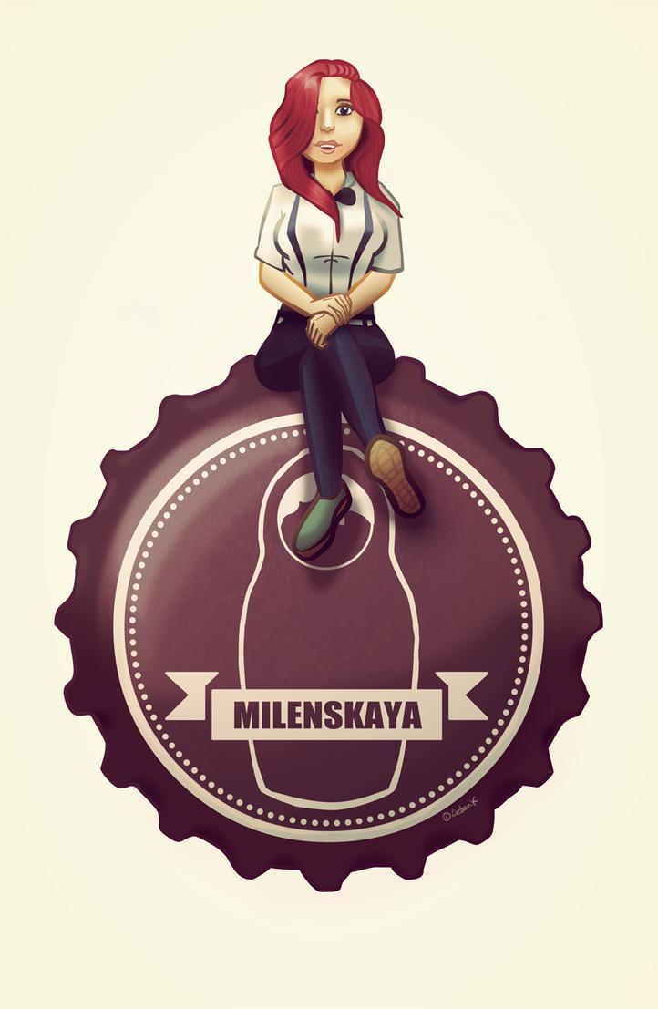 Milenskaya Blogger Portrait by BerlinerPixel