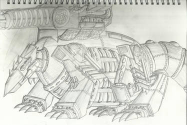 Landship Rauser by X-heketchis