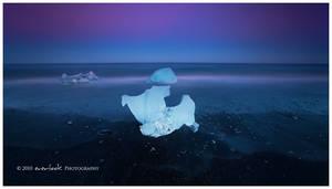 Blue ice by Dee-T