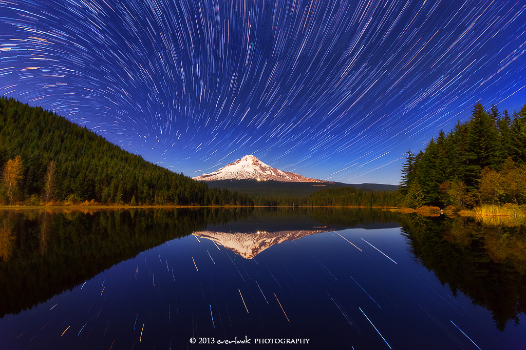 Mount Hood Vortex by Dee-T