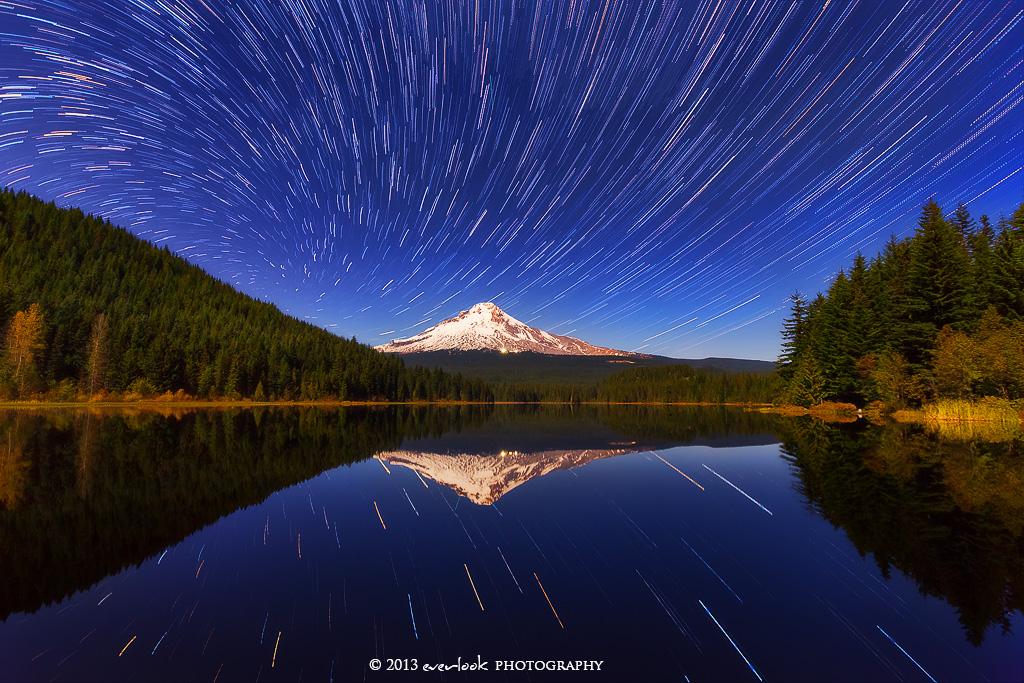 Mount Hood Vortex by Dee-T