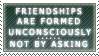 Friendship stamp