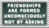 Friendship stamp by JinZhan