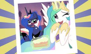 Luna and Celestia Photo