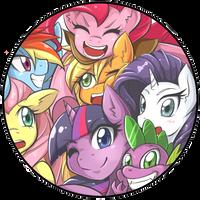 MLP Pin Badge by JinZhan