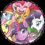 MLP Pin Badge