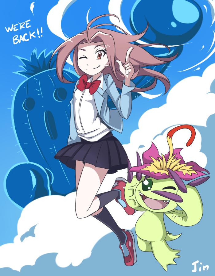 Digimon Tri by JinZhan