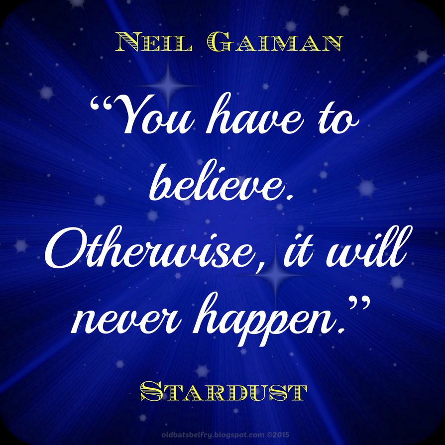 Neil Gaiman Quote by Mulluane