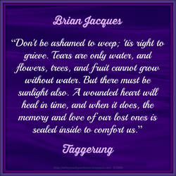 Brian Jacques Quote by Mulluane