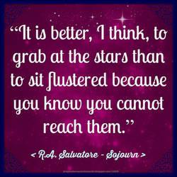 R.A. Salvatore Quote