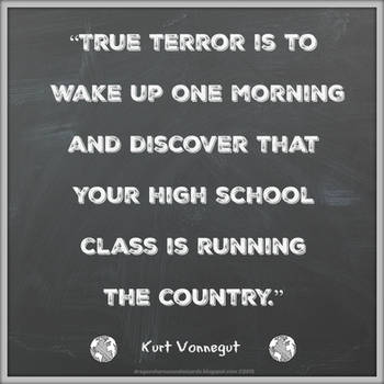 Kurt Vonnegut Quote by Mulluane
