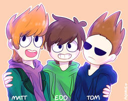 eddsworld uwu by aoirie