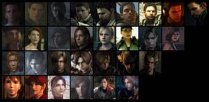 Resident Evil: 15 years by Garutsu