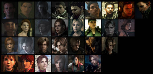Resident Evil: 15 years by Garutsu