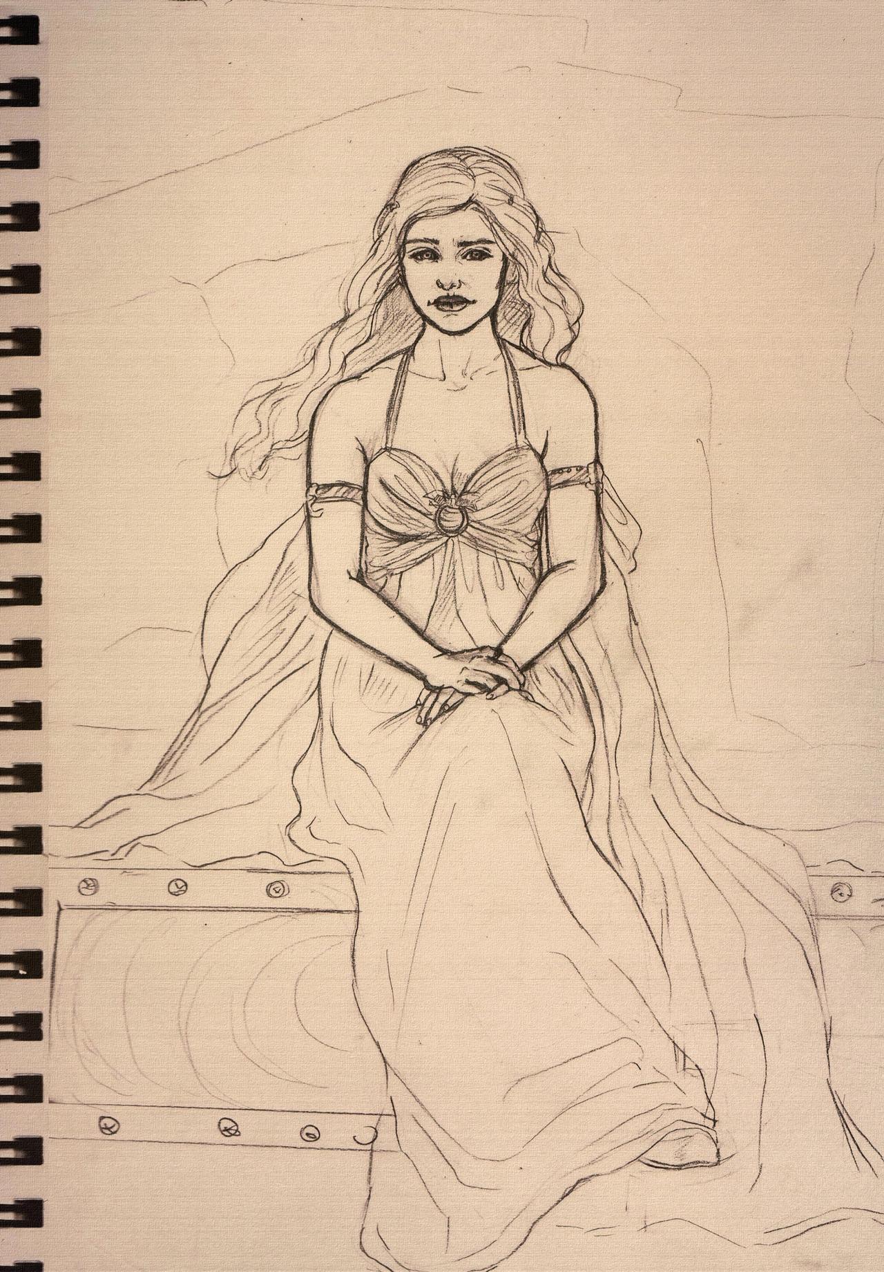 Khaleesi 001 by LuanaVecchio