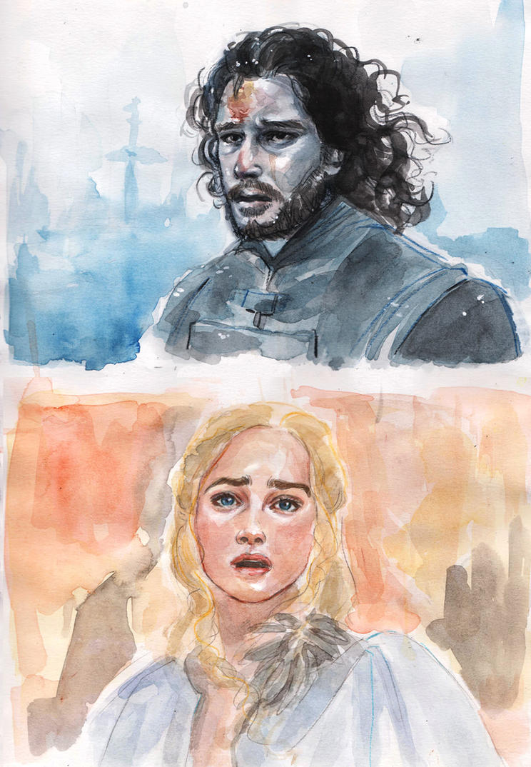 Jon and Dany by LuanaVecchio