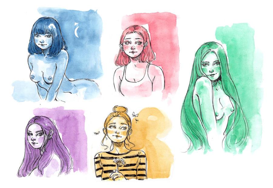 Sketch by LuanaVecchio