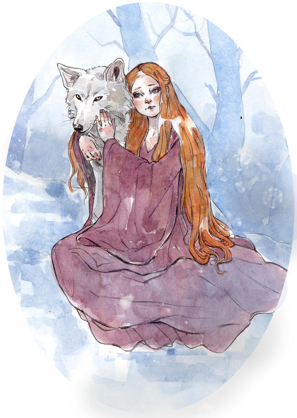 Sansa Stark by LuanaVecchio