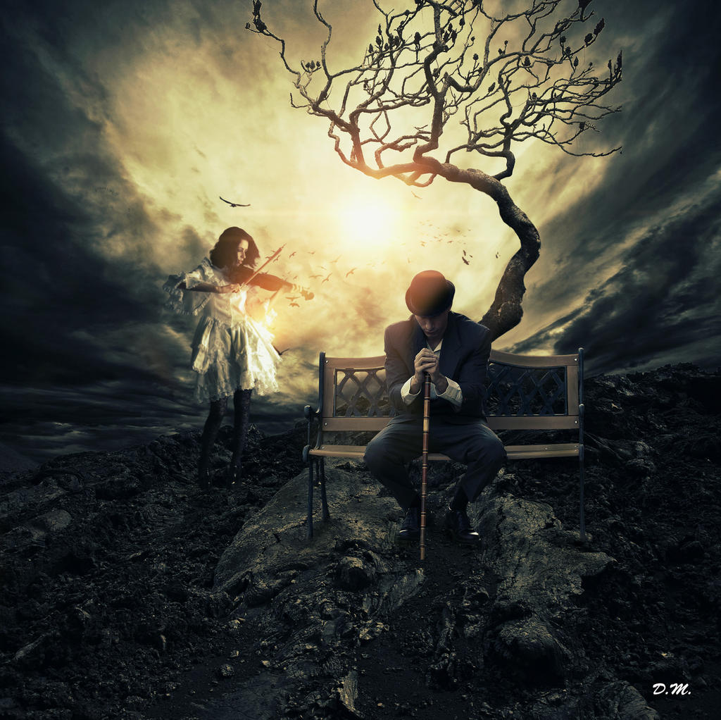 sad song for the lonely soul by veuliahzg on DeviantArt