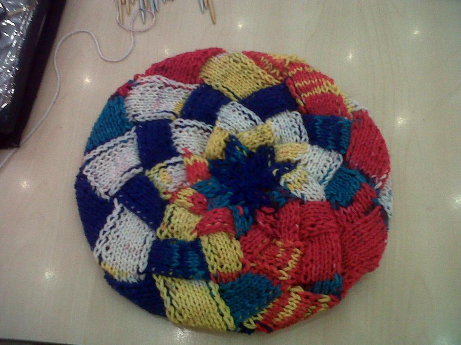 Knit entrelac beret by chemistdikauna on deviantART