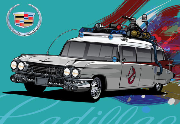 ecto 1 ghostbusters wallpaper - photo #14