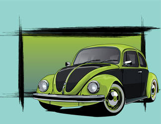 The Classic VW Bug by stxd3