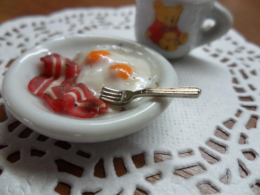 Eggs and Bacon by Eminentia