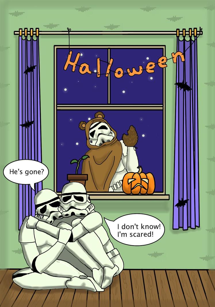 Halloween in Troopertown by Eminentia