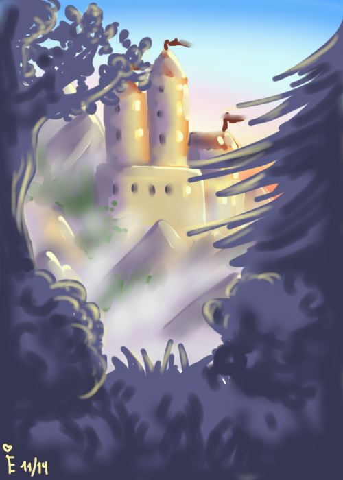 The Mountain Castle by Eminentia