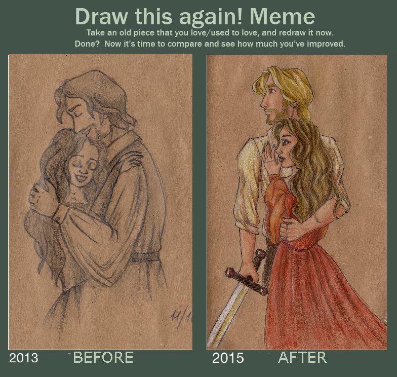 Draw it Again Meme by Eminentia