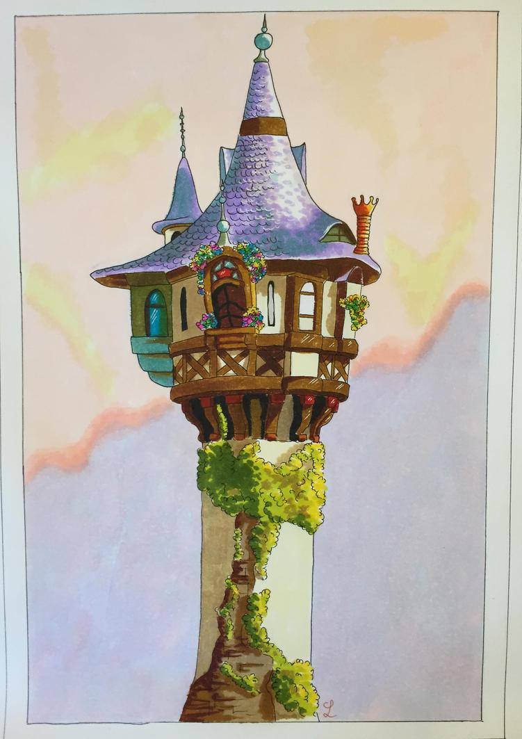 Rapunzel Tower by Eminentia
