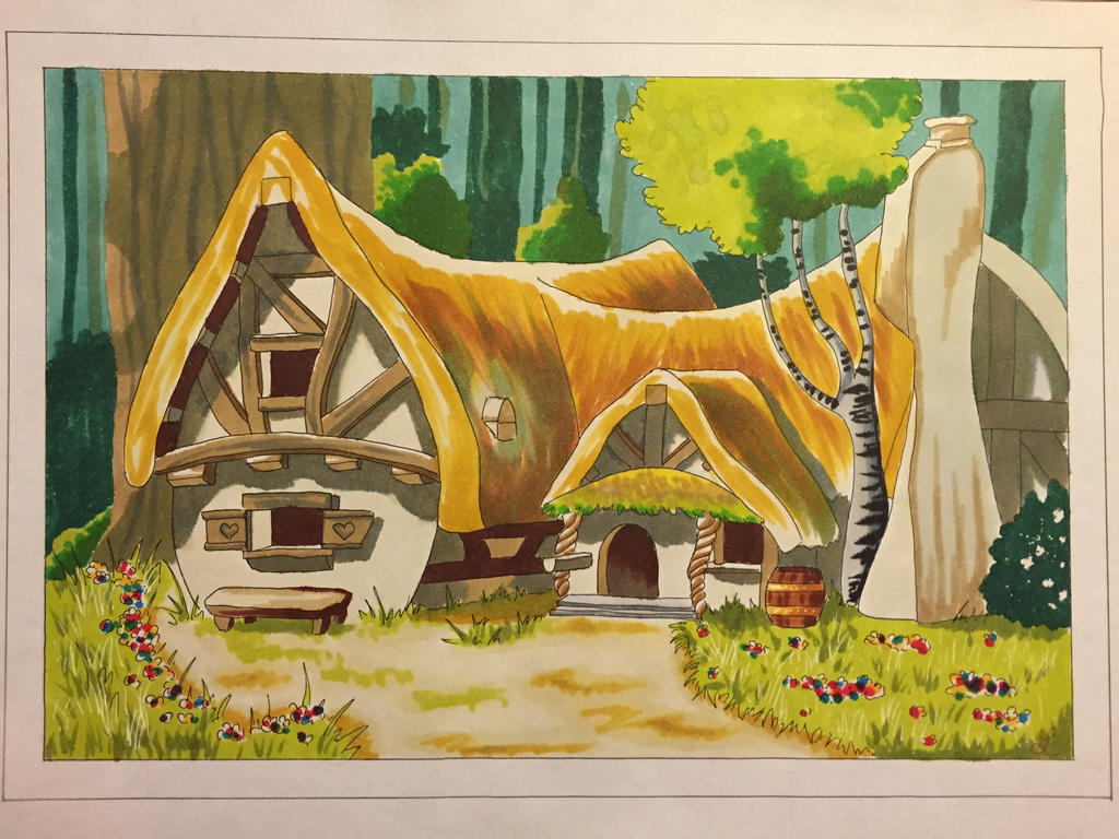 Snowhite's House by Eminentia