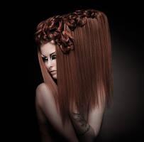hair. by konfuses