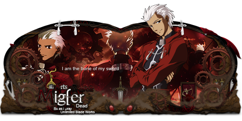 Sign Archer Fate stay night by GledsonByDead