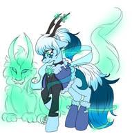 [Adoption] Spirit bender pony *Auction* (closed) by Midnightglow20