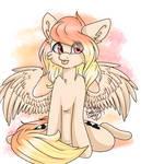 [Ych] Sitting pony