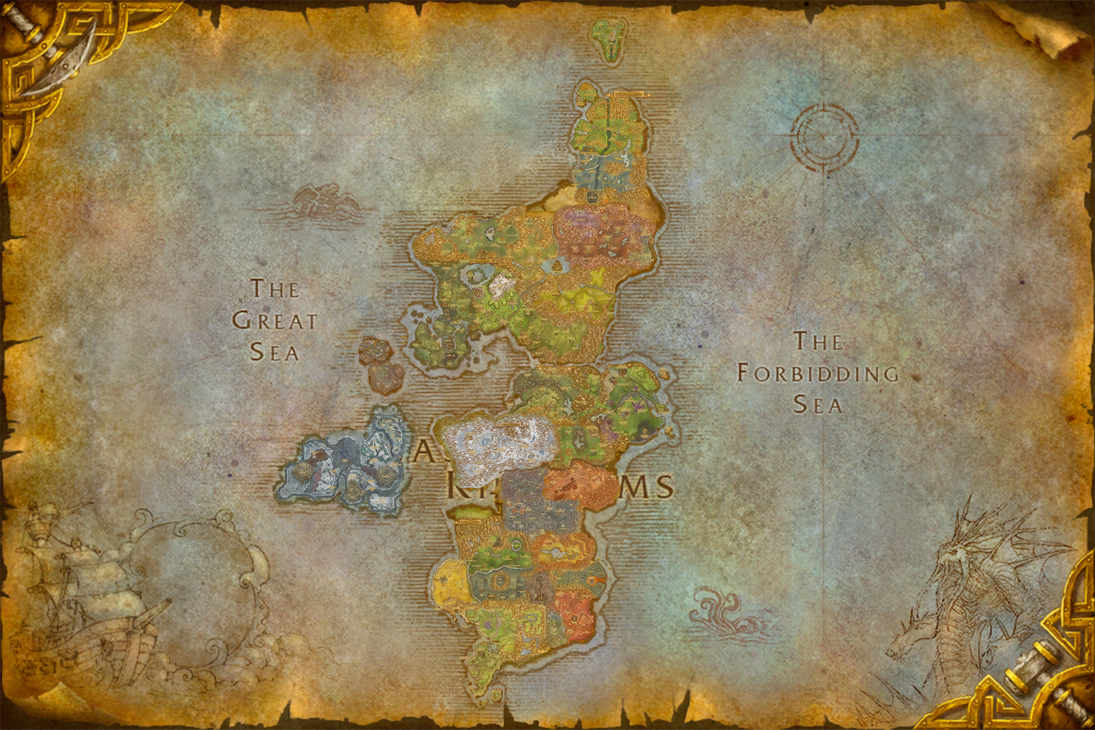 World of Warcraft Composites Eastern Kingdoms by