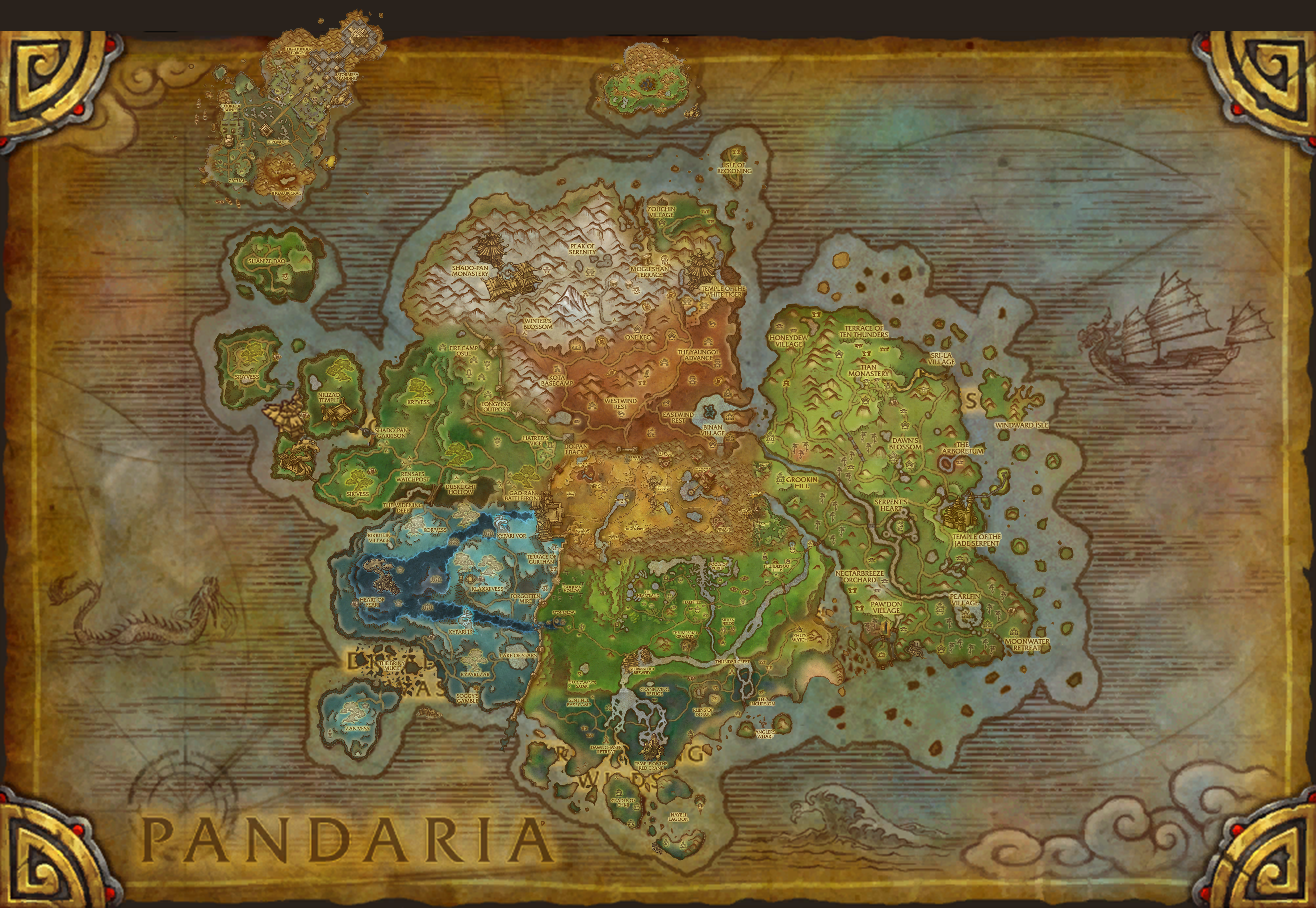 Pandaria Map Compressportnederland