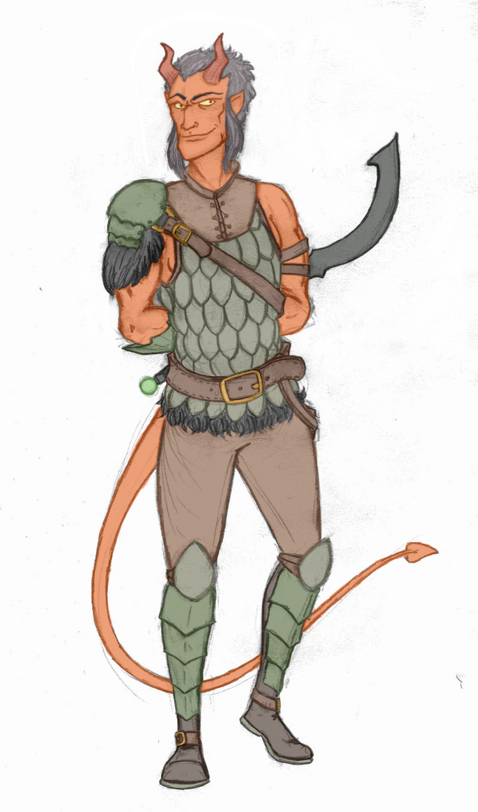Tiefling Ardent by Xatoga