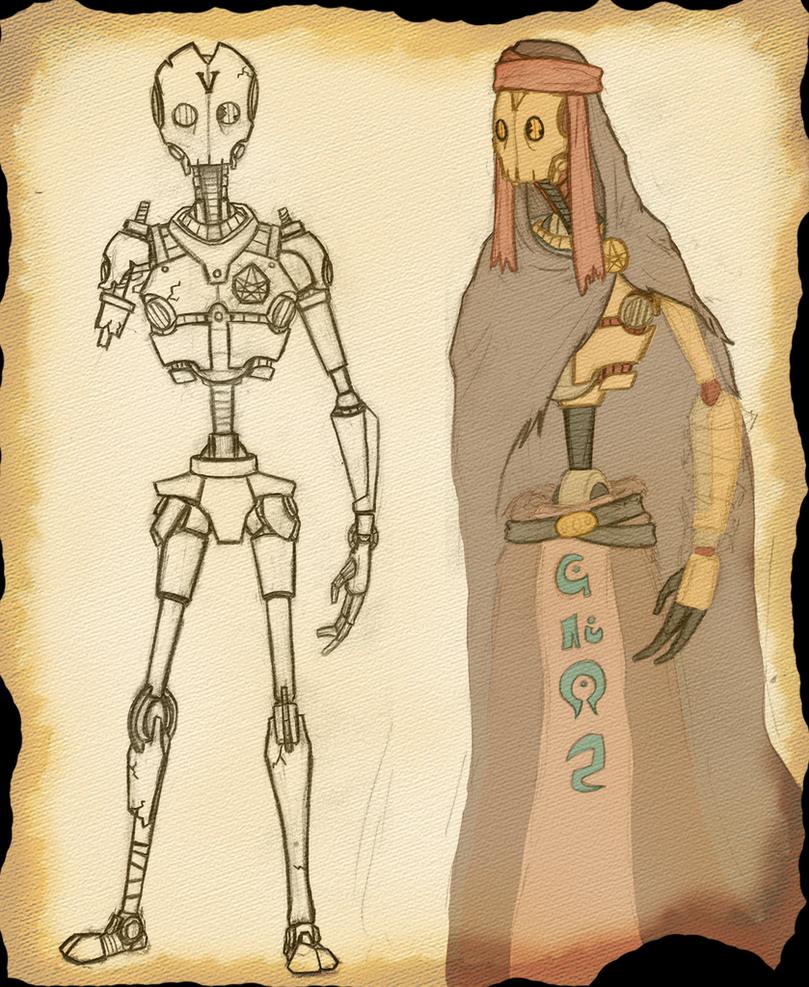Ancient Mechanoid by Xatoga