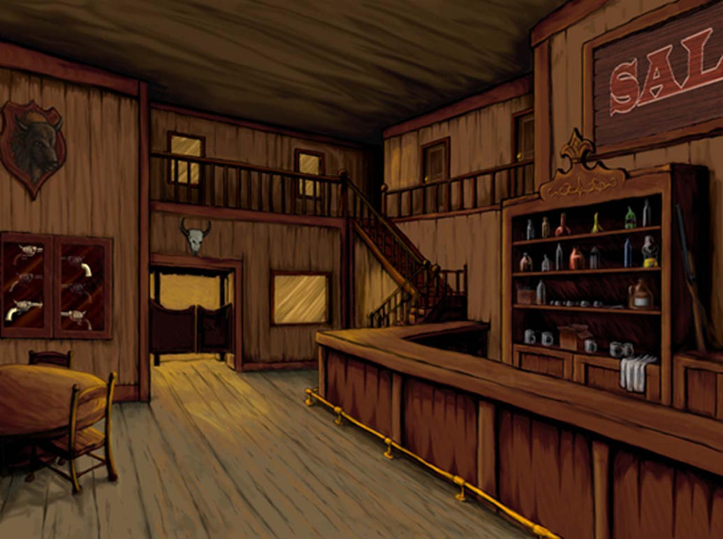 Old West Saloon By Halo34 On Deviantart