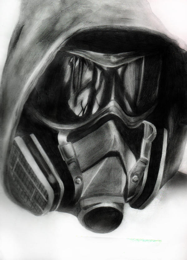 Gas Masks Drawing Gas Mask Drawing Gasmask